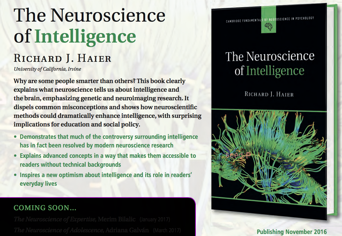 Neuroscience of intellignece screen